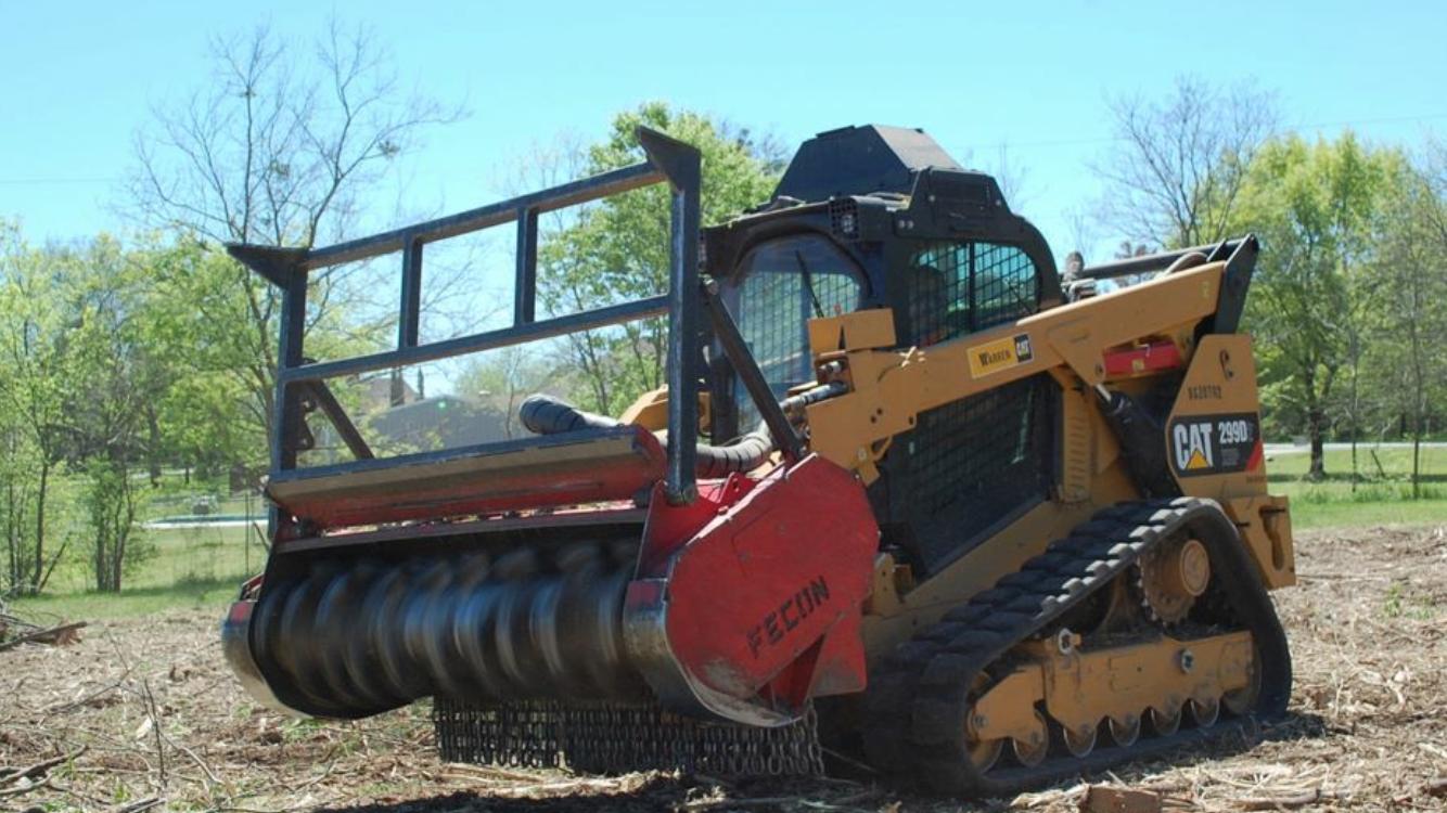 tree mulching machine